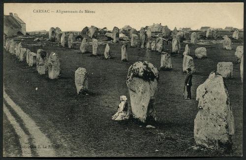 Alignements du Ménec, Carnac, 1907