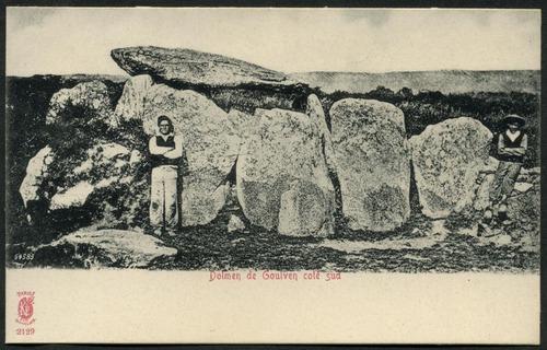 Dolmen de Goulven coté sud, c.1905