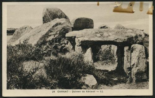 dolmen de k riaval carnac prehistoric monuments. Black Bedroom Furniture Sets. Home Design Ideas