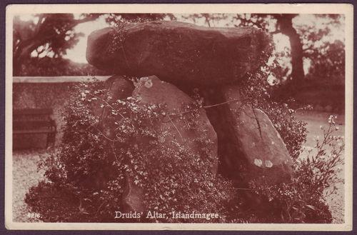 Druid's Altar, Islandmagee, Antrim, c.1920