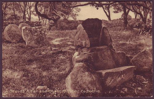 Druid's Altar and Chair, Killiney, Dublin, c.1920