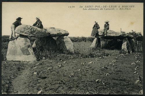 Les Dolmens de Caravel, Saint-Pol-de-Léon , c.1910