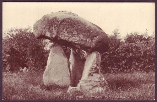 Proleek Dolmen, Dundalk, Louth, c.1920