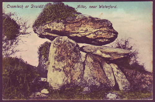 Knockeen Dolmen, Waterford, c.1920