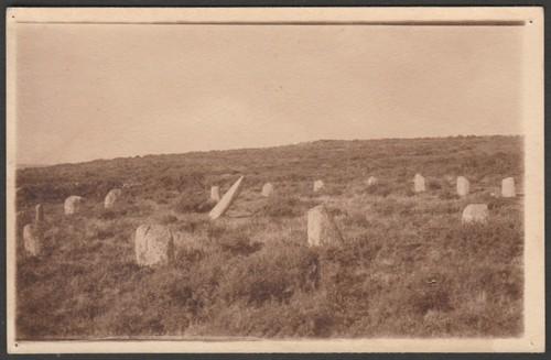 Boscawen-ûn Stone Circle, c.1910